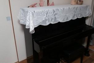 何と本物のピアノが