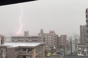 ゲリラ豪雨☂️