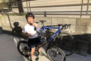 小僧とサイクリング